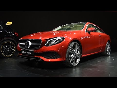 [AutoGuide] 2018 E-Class Coupe First Look: 2017 Detroit Auto Show