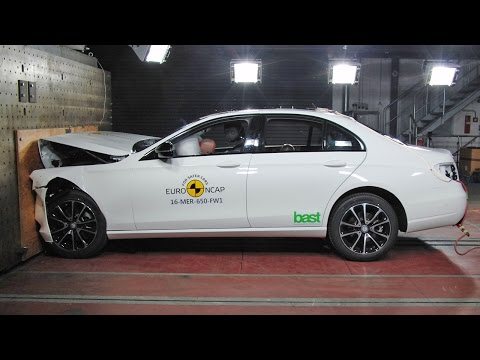 [YOUCAR] 2017 E-Class CRASH TESTS