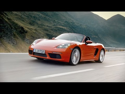 [오피셜] 718 Boxster For the sport of it