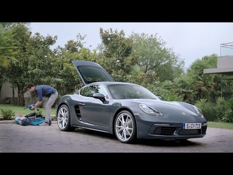 [오피셜] How much can you fit in a 718 Cayman?