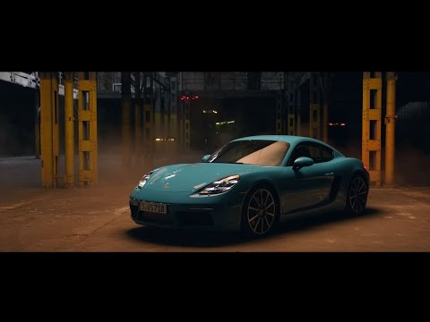 [오피셜] Race drones vs. Porsche 718 Cayman
