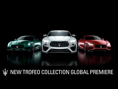 [오피셜] New Maserati Trofeo Collection Global Premiere