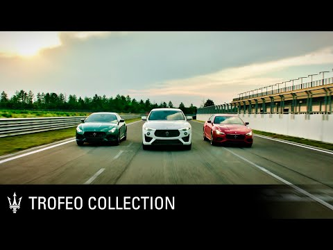 [오피셜] New Maserati Trofeo Collection. Refined. Never tamed