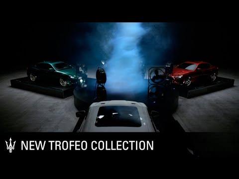 [오피셜] Introducing the new Maserati Trofeo Collection. The Art of Fast