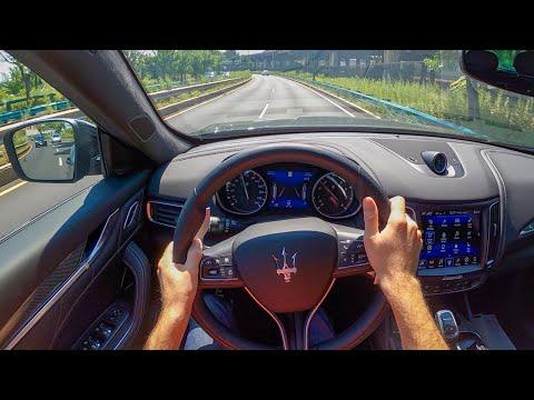[WR Magazine] 2020 Maserati Levante GranSport - POV Test Drive by Tedward (Binaural Audio)