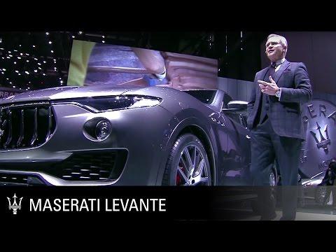 [오피셜] Levante -  Geneva International Motor Show 2016