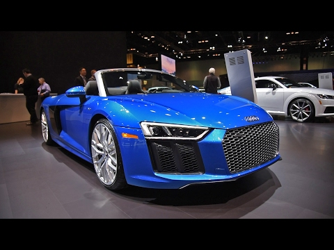 [AG] 2017 R8 V10 Spyder First Look: 2017 Chicago Auto Show