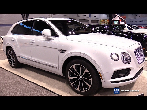 [SCT] 2017 Bentayga W12 - Exterior and Interior Walkaround - 2017 Chicago Auto Show