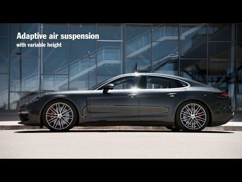[오피셜] The new Porsche Panamera – Chassis systems