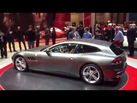 [Autocar] Ferrari GTC4Lusso revealed - Geneva show blog