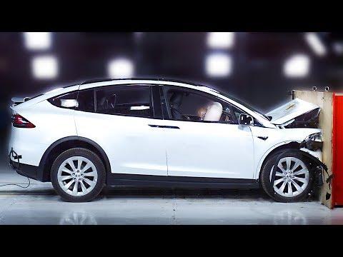 [YOUCAR] Tesla Model X crash test