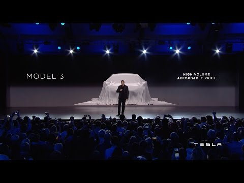 [오피셜] Tesla Unveils Model 3