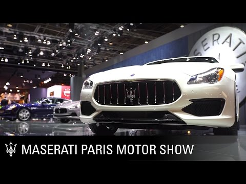 [오피셜] Maserati at the 2016 Paris Motor Show - Best of
