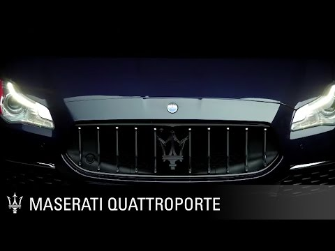 [Maserati] Maserati Quattroporte. The race-bred sound of a luxury sedan