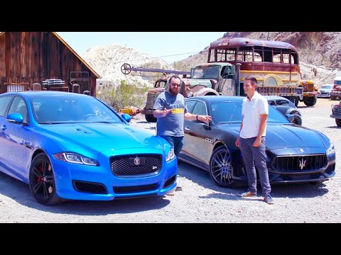 [MotorTrend] Jaguar XJR575 vs Maserati Quattroporte GTS