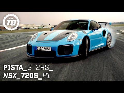 [Top Gear] BEST OF SUPERCARS: Ferrari Pista, Honda NSX, McLaren 720S, McLaren P1, Porsche GT2RS