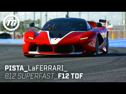 [Top Gear] Chris Harris drives... Best of Ferrari: LaFerrari, 488 Pista, 812 Superfast, F12 TDF