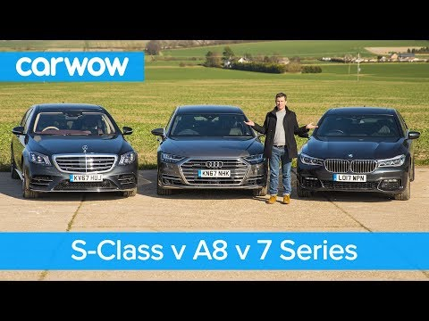 [carwow] S-Class vs Audi A8 vs BMW 7 Series review