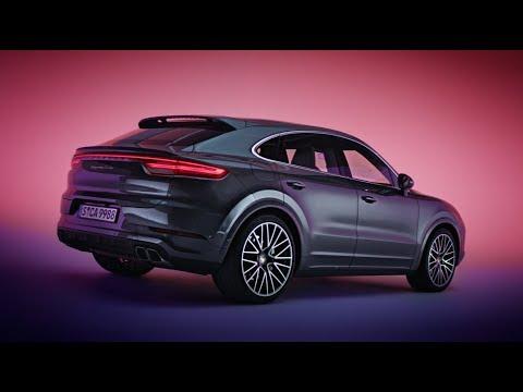 [오피셜] The new Porsche Cayenne Coupe - Design Film