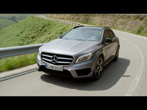 [YOUCAR] 2014 GLA 250 on the road