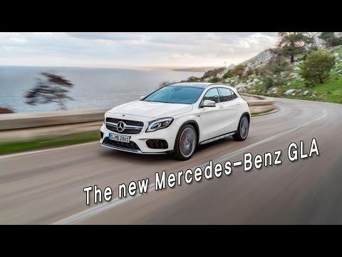 [오토다이어리] [2017 디트로이트모터쇼] 메르세데스 벤츠가 발표한 더 뉴 GLA
