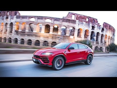 [오피셜] Urus on the streets of Rome