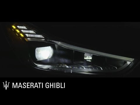 [Maserati] Maserati Ghibli. Full LED Adaptive Matrix Headlights