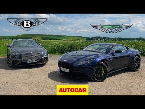 [Autocar] Bentley Continental GT vs Aston Martin DB11 AMR | Two great GT cars reviewed