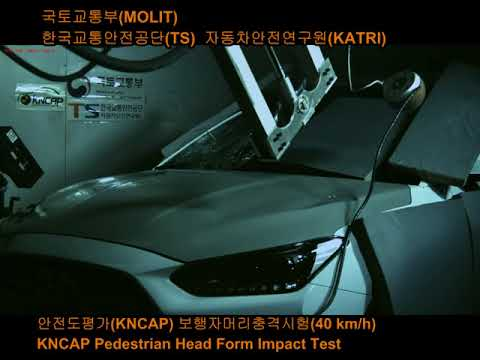 [koreancap] 2018 KNCAP : Veloster Pedestrian Protection Test
