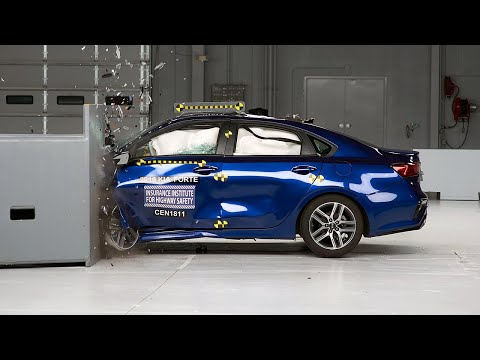 [IIHS] 2019 Kia Forte driver-side small overlap IIHS crash test