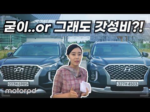 [모터피디] 팰리세이드 캘리그라피, 여전히 갓성비일까?