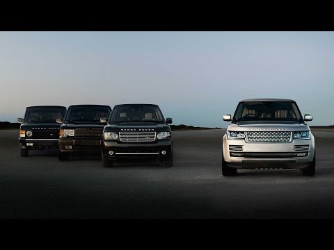 [오피셜] Range Rover – The Evolution of the World's Most Luxurious SUV