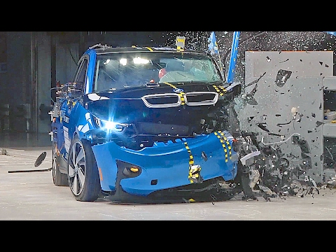[YOUCAR] BMW i3 (2017) IIHS Crash Tests