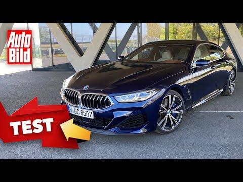 [AUTO BILD] BMW M850i Gran Coupé (2020): Test - Fahrbericht - Limousine - Infos