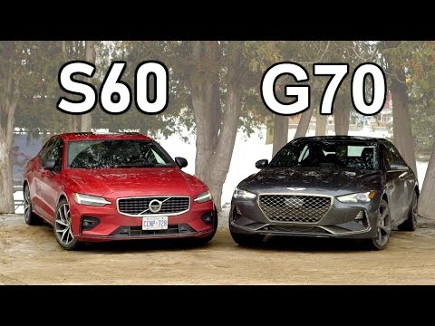 [Throttle House] 2019 Volvo S60 vs 2019 Genesis G70 // Rise Of The Underdogs