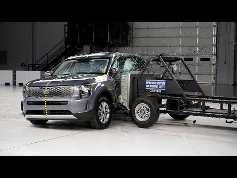 [IIHS] 2020 Kia Telluride side IIHS crash test