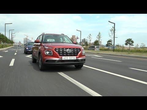 [현대자동차] 현대자동차 혼라이프 SUV 베뉴(VENUE) 도로 주행 영상