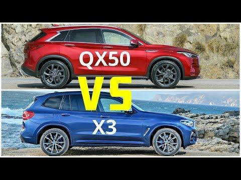 [Cars Online] 2019 Infiniti QX50 vs BMW X3