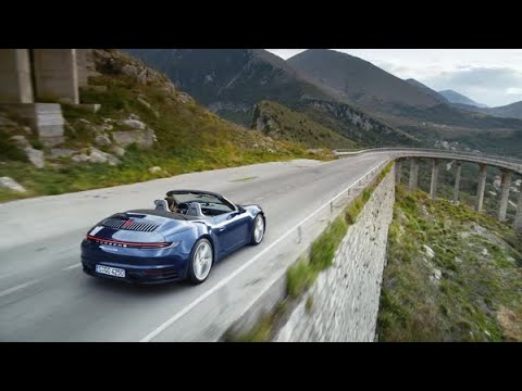 [오피셜] The new 911 Cabriolet: First Driving Footage