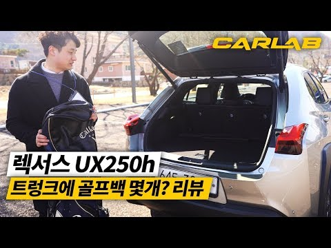 [CARLAB] 렉서스 UX250h 트렁크 골프백 리뷰!