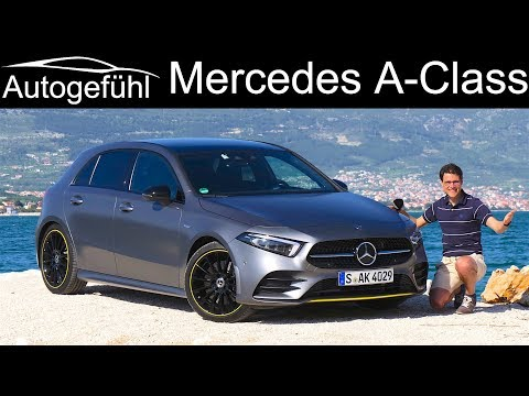 [Autogefühl] A-Class FULL REVIEW all-new 2019 AClass A250 AMG Line A-Klasse