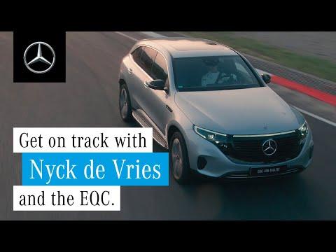 [오피셜] Test Drive of the EQC with Nyck de Vries