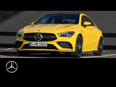 [오피셜] AMG CLA 35 4MATIC (2019): World Premiere | Trailer