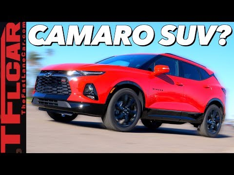 [The Fast Lane Car] 2019 Chevy Blazer Is No Longer Your Fathers Truck- First Drive Review