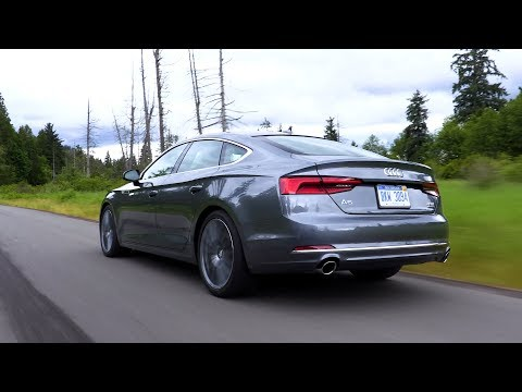 [The Wheel Network] 2018 Audi A5 Sportback - Driving, Interior & Exterior Footage (US Spec)