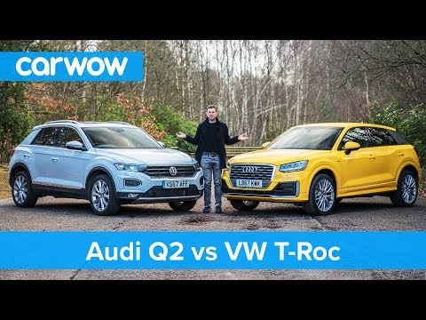 [carwow] VW T-Roc vs Audi Q2 review - which is best? | carwow