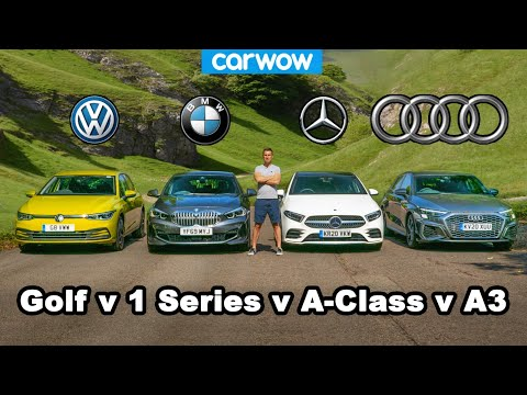 [carwow] Audi A3 v BMW 1 Series v VW Golf v Mercedes A-Class: which is best?