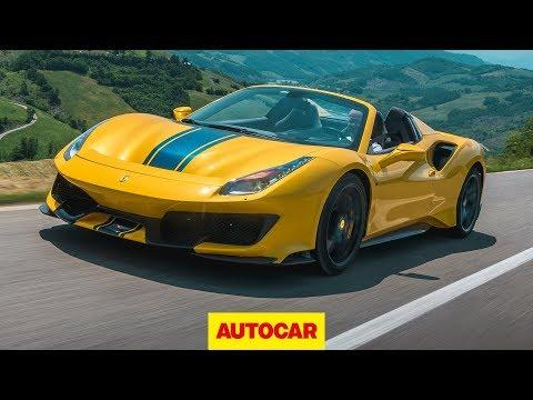 [Autocar] 2019 Ferrari 488 Pista Spider review | The best convertible supercar?