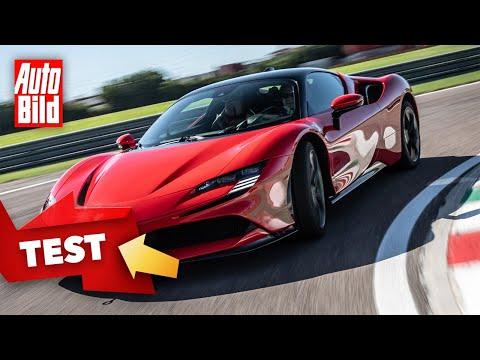 [AUTO BILD] Ferrari SF90 Stradale (2020): Neuvorstellung - Plug-in-Hybrid - Elektro - Sportwagen