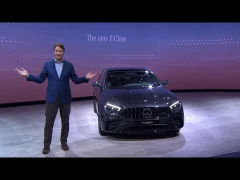 [Benz] World premiere of new E-Class
